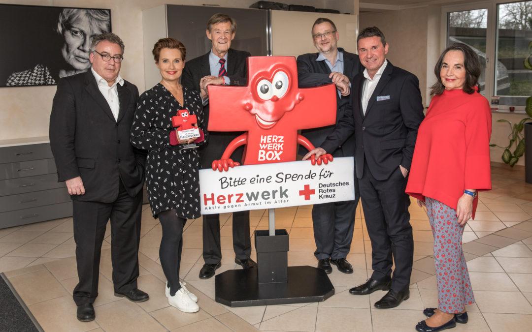 Klosterkemper und Gäste spenden 10.000 Euro für Jenny Jürgens Herzwerk